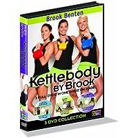 Preisvergleich für GoFit Brook Benton, Kettlebody, Workout-DVD. Serie von 3 DVDs. - Weiß, 13,97 x 1,27 x 19,05 cm