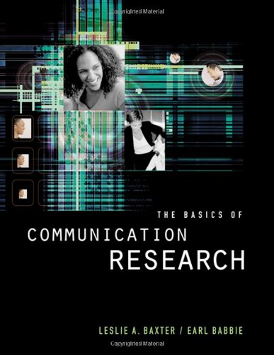The Basics of Communication Research (Wadsworth Series in Speech Com)