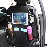 chenyu Auto Rücksitz Organizer 4. Touch Screen iPad Tablet Halterung Rückseite Kinder-Reise-Aufbewahrungstaschen Auto Organizer Taschen