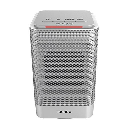 iOCHOW DN1 Heizlüfter, 2 Heizleistungen - 450W (SOFT) Und 950W (STRONG), Eine Heizlüfter Elektrisch (Heizlüfter Keramik, Heizlüfter Badezimmer) In Der Lage, Ihr Zimmer