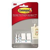 Command 17089Q-ES Spring Clip Quartz with 3 Clips/4 Strips