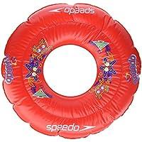 Speedo Sea Squad Swim Ring Flotador, Unisex Niños, Rojo (Lava Red), Talla Única