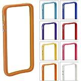 55403B Apple Iphone 5 5S Stylish Bumper Frame Case Cover + FREE Stylus Pen