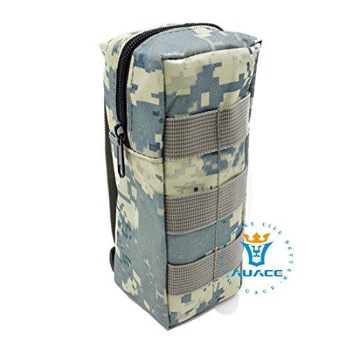 Multifunktions Survival Gear Tactical Beutel MOLLE Tasche Wasser Flasche Paket, Outdoor Camping Tragbare Travel Bags Handtaschen Werkzeug Taschen Taille Tasche Handytasche ACU