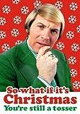 WAS, wenn es ist Weihnachten, Sie also noch Plus Funny Weihnachten Karte