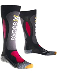 X-Socks Ski Carving Silver, Chaussettes mixte adulte