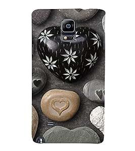 Fuson Premium Printed Hard Plastic Back Case Cover for Samsung Galaxy Note 4