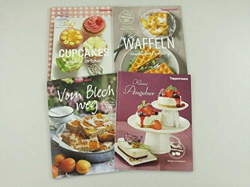 TUPPERWARE Rezeptheft Cupcakes + Waffeln+ Vom Blech weg + kleine Angeber Deutsch (Für Cupcakes Tupperware)