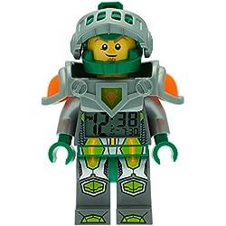 Lego Despertador con luz Infantil con figurita de Aaron Nexo Knights 9009426