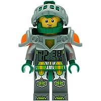 Réveil figurine lumineux Aaron de LEGO Nexo Knights 9009426 pour enfant