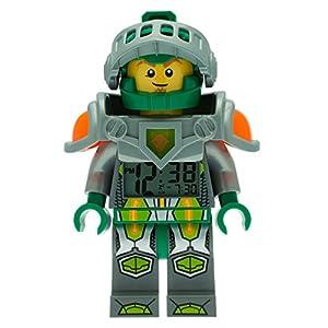 LEGO Nexo Knight 9009426 Sveglia retroilluminata per bambini minifigure Aaron LEGO NEXO KNIGHTS LEGO
