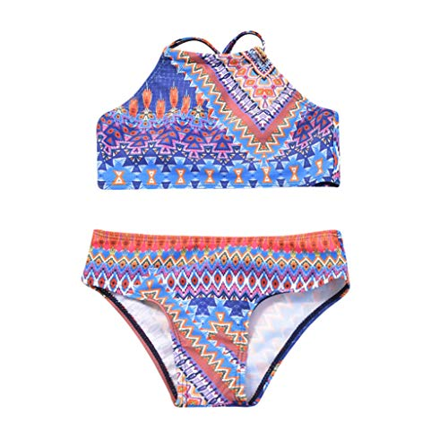 Traje de baño Bikinis Familiar, Mujer y niñas bebé 2-11 años Conjuntos de Bikini Push up Estilo...