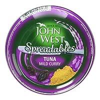 John West Spreadables Tuna Mild Curry, 80g