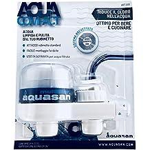 Aquasan 0011 Filtro Rubinetto Ottimo per Bere e Cucinare, Bianco