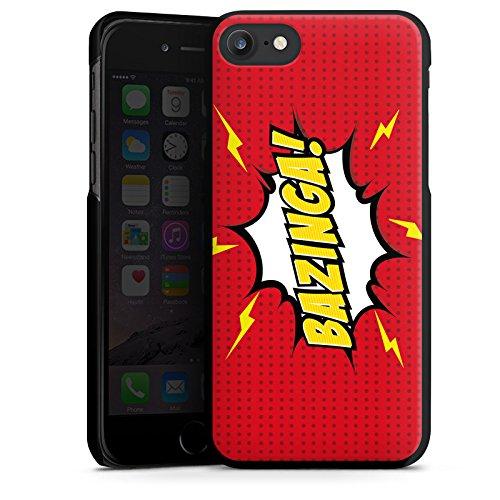 Apple iPhone X Silikon Hülle Case Schutzhülle Bazinga Big Bang Theory Sheldon Hard Case schwarz