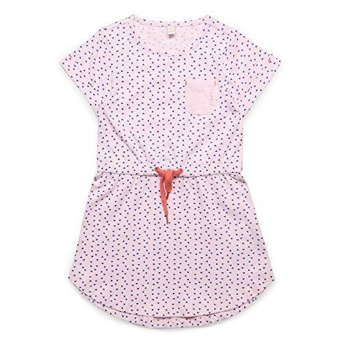 ESPRIT KIDS Mädchen Knit Dress SS Kleid, Rosa (Blush 310), Herstellergröße: 104+
