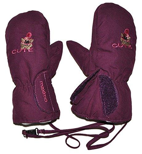 - Lange Lila Handschuhe