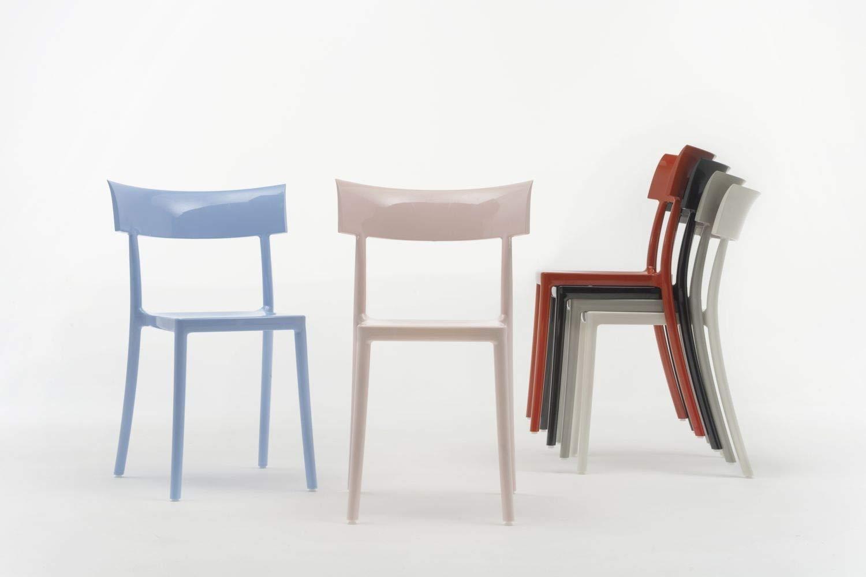 Kartell - Sedia Catwalk - Bianco - Philippe Starck con Sergio Schito -  Design - Sedia da Sala da Pranzo - Sedia da Giardino - Sedia da Cucina -  Sedia ...