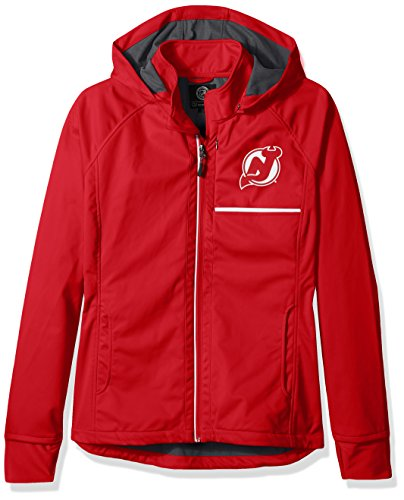 Schnitt Rückseite Soft Shell Jacke, Damen, Cut Back Soft Shell Jacket, rot, Large (Soft Shell Hockey)