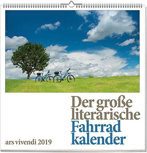 Wandkalender: Der große literarische Fahrradkalender 2019. Vierfarbig, Format 50 x 50 cm