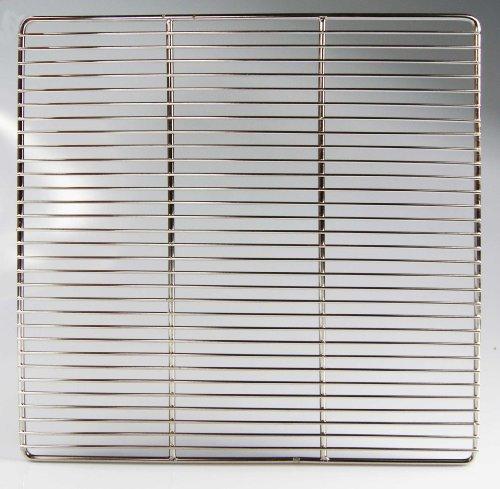 2-teiliger Edelstahl Grillrost 60 x 44,5 cm für Weber E 310 E 320 SPIRIT Grill Rost