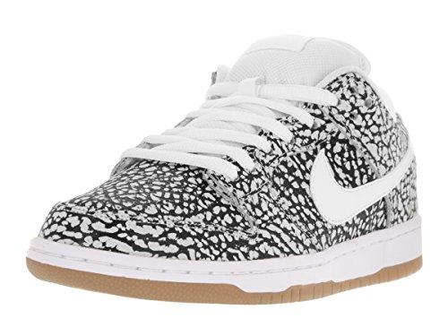 Nike Dunk Low Premium Sb, Chaussures de Skate Homme white, white-black-gum lt brown