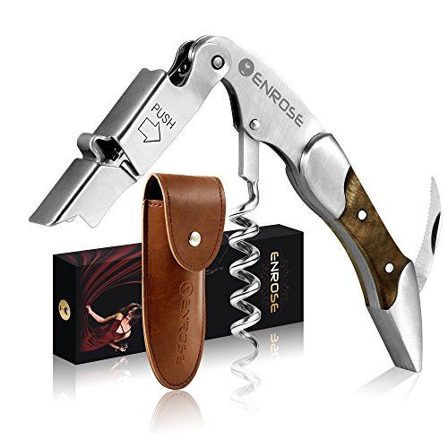 enrose-waiters-corkscrew-premium-all-in-one-corkscrew-wood-handle-stainless-steel-all-in-one-corkscr