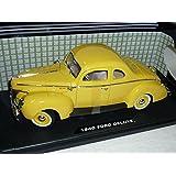 Ford Deluxe Coupe amarillo 1940Hot Rod Oldtimer 1/18Motor Max Modelo Modelo de coche Auto