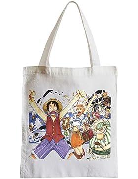 Große Tasche Sack Einkaufsbummel Strand Schüler manga One Piece