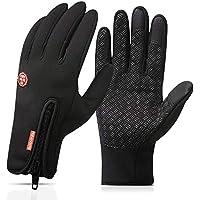Touchscreen Handschuhe,Nasharia Outdoor Laufhandschuhe Radfahren Jagd Sports Handschuhe Fahrradhandschuhe mit Touchscreen Funktion Für Herren und Damen Laufen Fahren Skifahren Skating Klettern