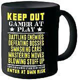 Posterboy 'Keep Out Gamer At Play' Ceramic Mug