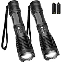 563389e87c4ed3 Maibahe 2 Pack Lampe torche led ultra puissante 800 lumens CREE-T6 Lampe