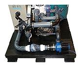 AquaForte EB60 Blue Eco Komplett-Set Filter Teich Pool vormontiert auf Palette