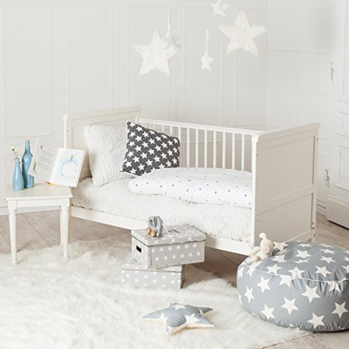 sale puckdaddy babybett 70x140cm wei auch als kinderbett. Black Bedroom Furniture Sets. Home Design Ideas