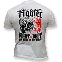 Dirty Ray MMA Fighter Don't Give Up the Fight camiseta hombre K50