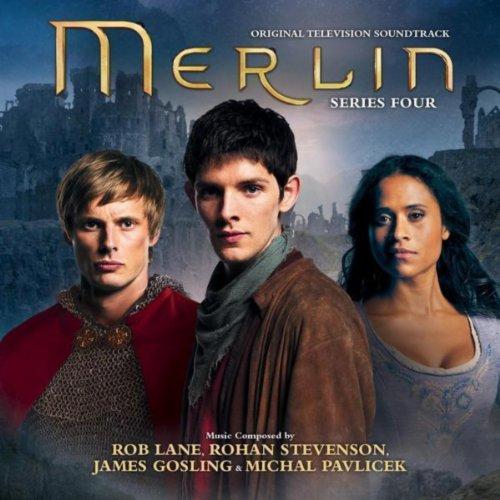Merlin Buries Lancelot -