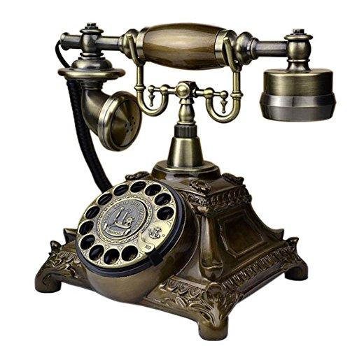Retro Schnurgebundenes Telefon Geschäftstelefon Anrufer-ID-Telefon Schnurgebundenes Großtasten-Telefon mit Freisprecheinrichtung (Schnurgebundene Freisprecheinrichtung, Anrufer-id)