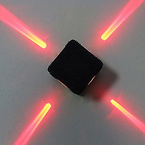 JIN LED Cross Starlight extérieur imperméable mur lampe Spotlight Décoration extérieure Engineering Light