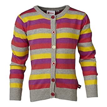 LEGO Wear Pull-over  Col ras du cou Manches longues Fille - Gris - Grau (914 MELANGE GREY) - FR : 12 ans (Taille fabricant : 152)