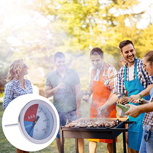 lailongp 300 Grad Thermometer für BBQ, Digitales Kochen Thermometer, Rauch Grill Ofen Temperaturanzeige, Outdoor Camp Werkzeug, (Outdoor-camp Ofen)