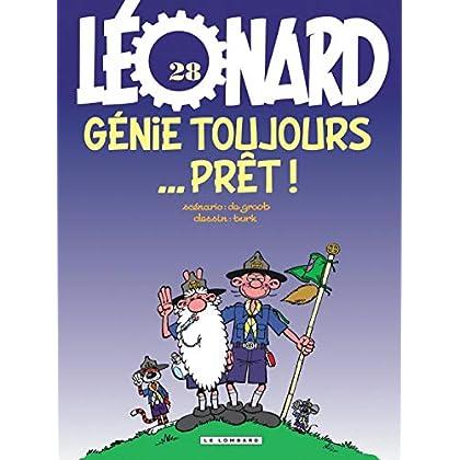 Léonard - tome 28 - Génie toujours prêt