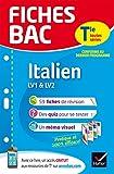 Fiches Bac Italien Tle (LV1 & LV2): fiches de révision   Terminale toutes séries