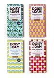 Doisy & Dam Organic Dark Chocolate Bundle, 80 g, Pack of 4