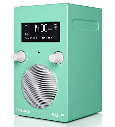 Tivoli Audio PAL+ BT Fashion FM/DAB+ tragbares Radio mit Bluetooth und integriertem Akkupack (Lucite Green (grün))