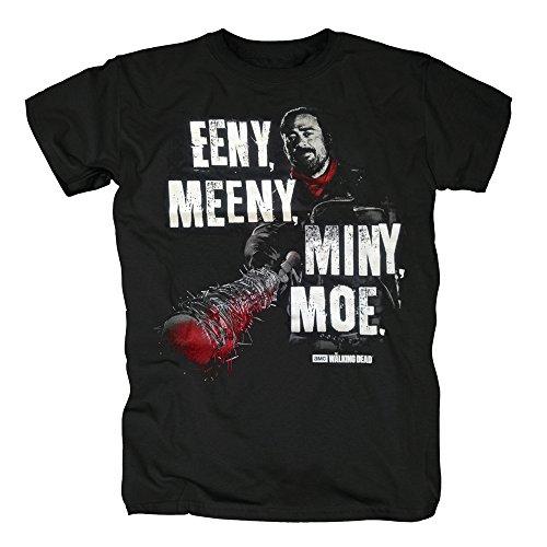 TSP The Walking Dead - Eeny Meeny Miny Moe T-Shirt Herren Black