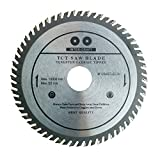 Inter-Craft 125mm Sägeblatt Top Qualität Kreissägeblatt für Holz 125 x 22.2mm 60 Zähne