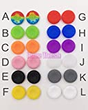 I : 100pcs Rubber Silicone Cap Thumbstick Thumb Stick Cover Case Skin Grip Grips For PS4 PS3 PS2 XBOX 360 ONE Controller
