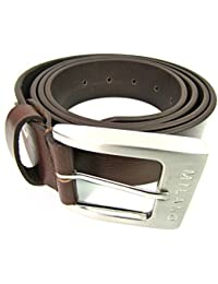 MENS BROWN FINE QUALITY LEATHER BELT DESIGNED BY MILANO 2920