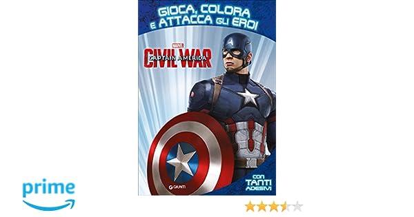 Amazon It Captain America Civil War Gioca Colora Attacca Eroi