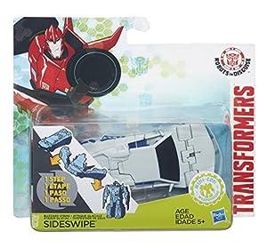 Hasbro Transformers b6807es0-Robots in Disguise de Step Changers Blizzard Strike sideswipe, Figura de acción